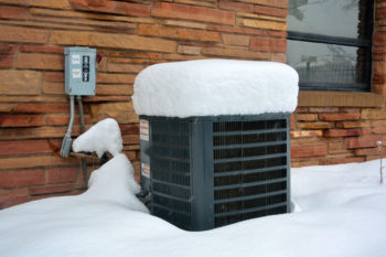 Can my heat pump heat in really cold weather?