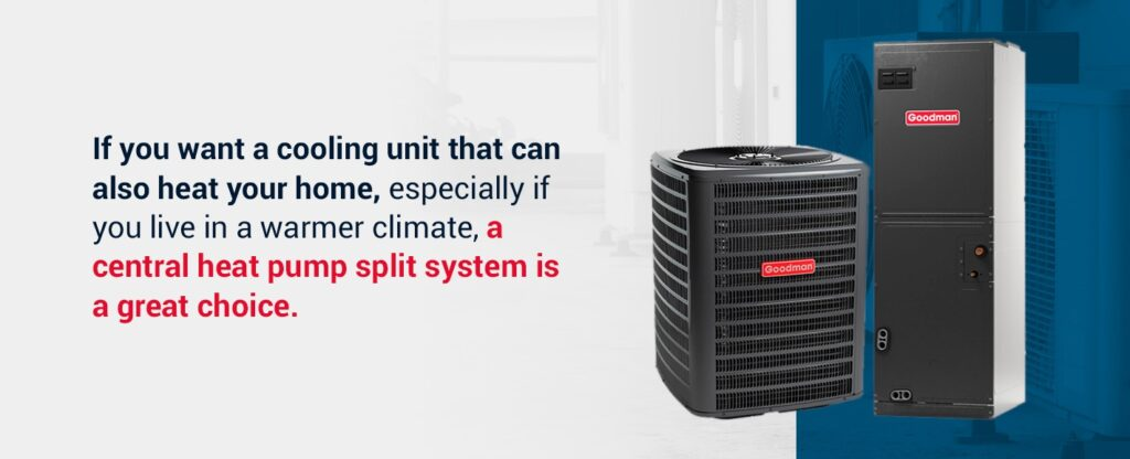 central heat pump hvac system
