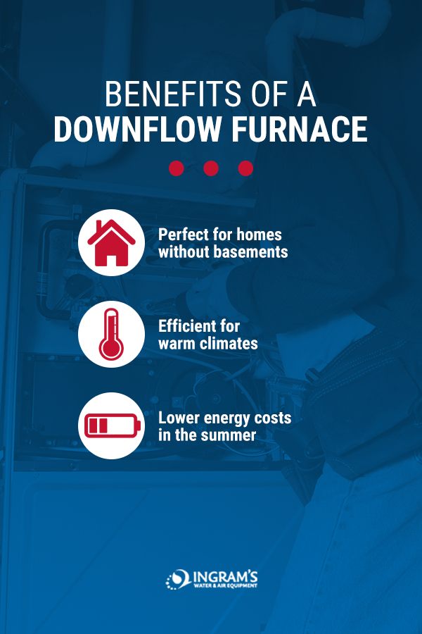 Benefits of Downflow Furnaces