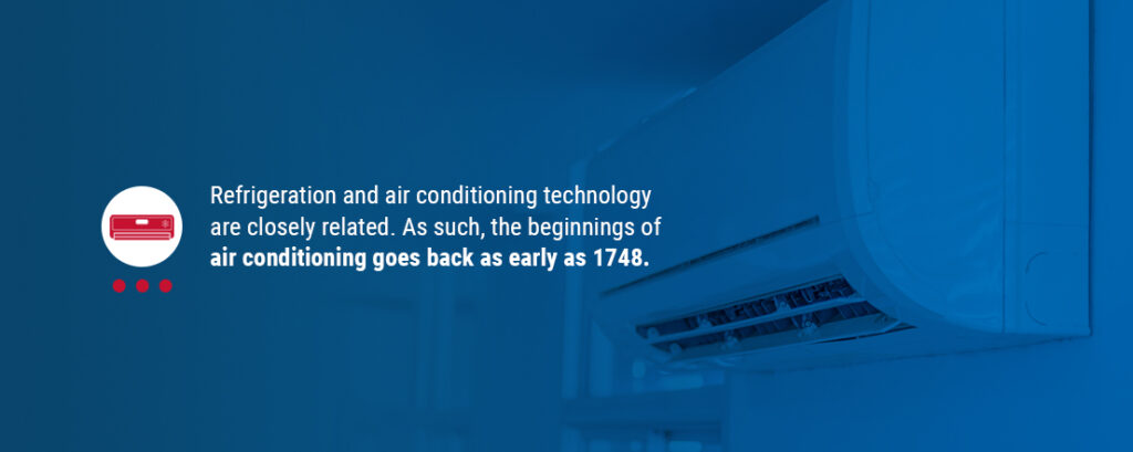 Air Conditioning Goes Back as Early as 1748