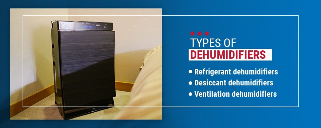 Type of Dehumidifiers