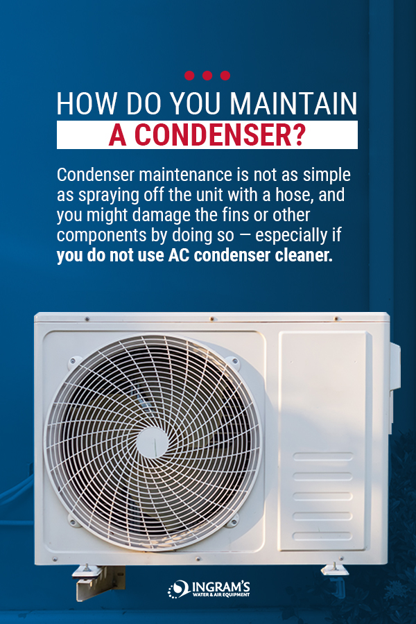 How to Maintain an AC Condenser