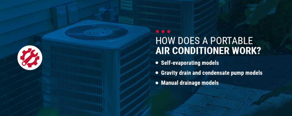 How Does a Portable Air Conditioner Work?