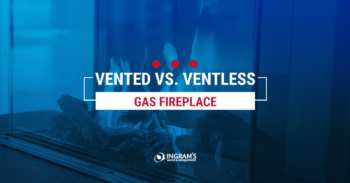 Vented vs Ventless Gas Fireplace
