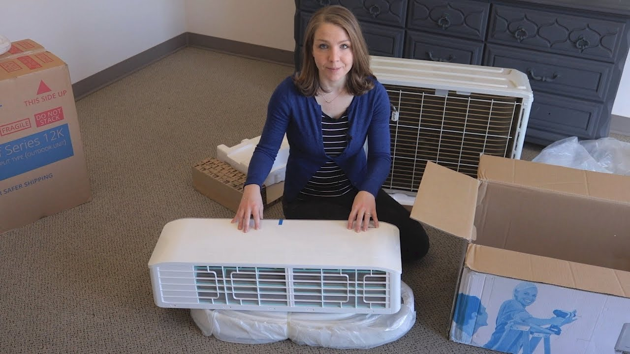 Unboxing A Mrcool Diy Ductless Mini Split Ingrams Water