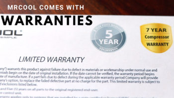 MRCOOL Ductless Systems Come with a Warranty