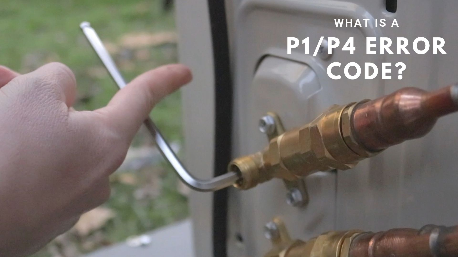 What Is A P1 Or P4 Error Code? - MRCOOL DIY Ductless Mini Split