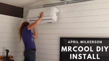 April Wilkerson's MrCool DIY Installation