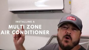 MrCool Multi-Zone Ductless Mini Split Installation - The Good of the Land