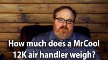 Can The MrCool DIY 12K Air Handler Be Mounted In A Mobile Home? - Ask the Expert Episode 188