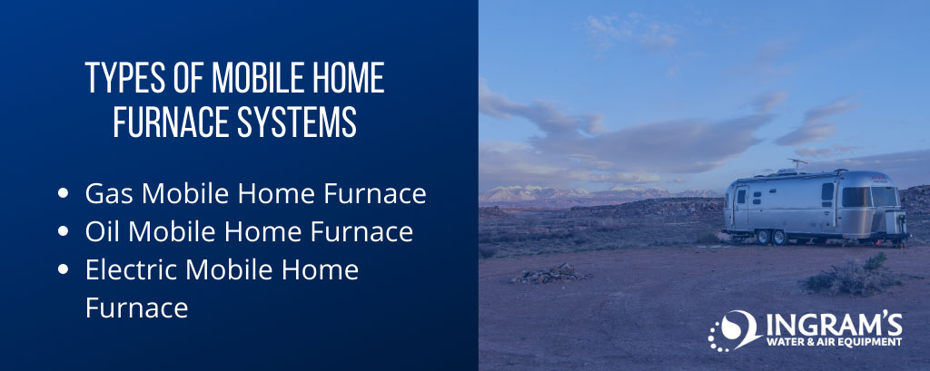 Types of Mobile Home Furnaces