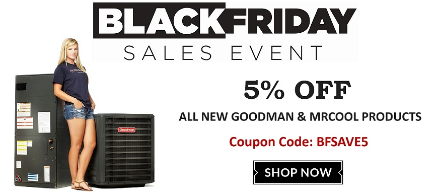 Save 5% on Goodman & MrCool