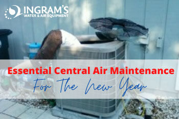 Essential Central Air Maintenance for the New Year