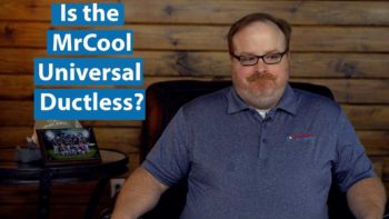 Is the MrCool Universal Heat Pump a Ductless System? - Ask the Expert Episode 199