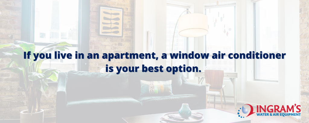 Window Air Conditioner best option for Apartments