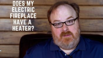 Does the Comfort Glow Electric Log Fireplace Insert Have a Heater? - Ask the Expert Episode 206