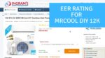 What is the EER for the MrCool DIY 12K Mini Split? - Ask the Expert Episode 227