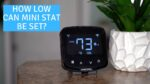 What is the Lowest Temperature Setting on the MrCool Mini Stat? - Ask the Expert Episode 229