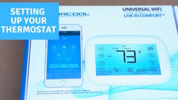 How to Set Up Your MrCool Universal Wifi Thermostat