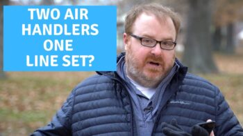 Can Multiple Ductless Air Handlers Connect to the Same Line Set? - Ask the Expert Episode 242