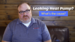 What do I do when my heat pump is making puddles outside? Ask The Expert Video Episode 279