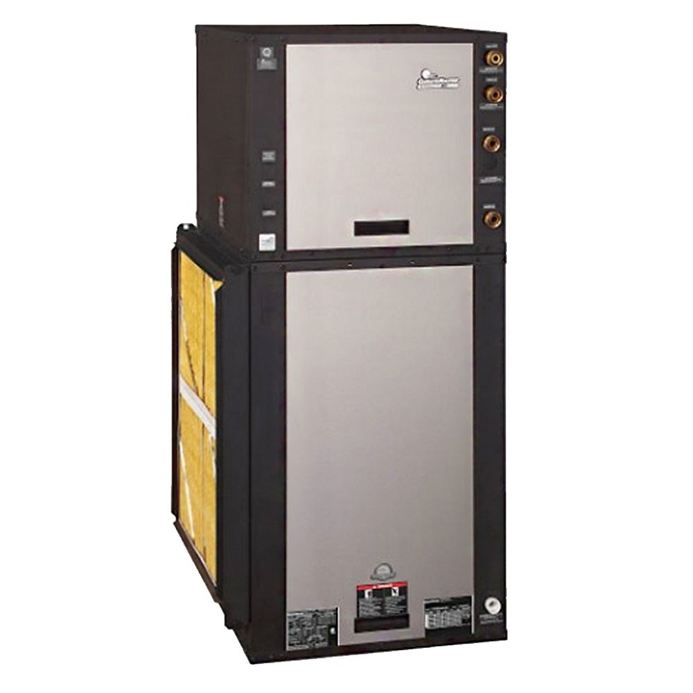 4 Ton 25.3 EER 2 Stage ClimateMaster Tranquility 30 Geothermal Heat Pump Vertical Package Unit - Downflow