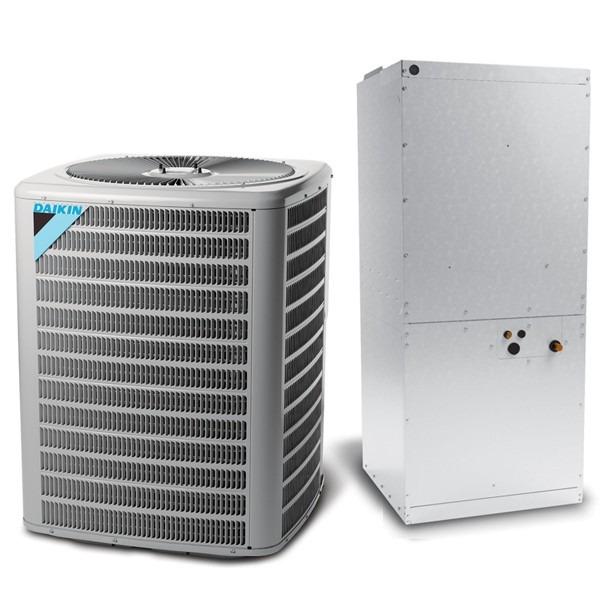7.5 Ton 11 EER Multi Speed Daikin Commercial Central Heat Pump Split System - Multiposition