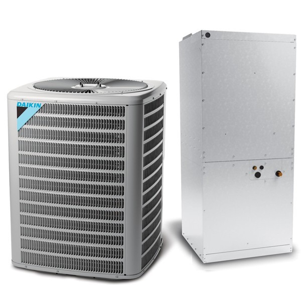 7.5 Ton 11.2 EER Multi Speed Daikin Commercial Central Air Conditioner Split System - Multiposition