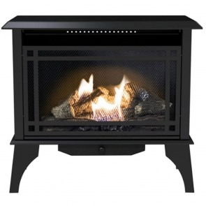 1250 Sq Ft Comfort Glow GSD2846 Dual Fuel Stove with Legs