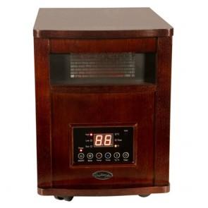 1500 Watt Comfort Glow Cherry Deluxe Infrared Quartz Comfort Furnace