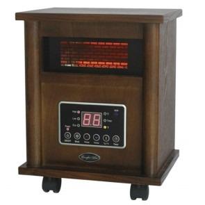 1500 Watt Comfort Glow Infrared Quartz Comfort Furnace