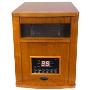 1500 Watt Comfort Glow Oak Deluxe Infrared Quartz Comfort Furnace