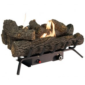 "30k BTU Comfort Glow 24"" Ventless Gas Log Set"